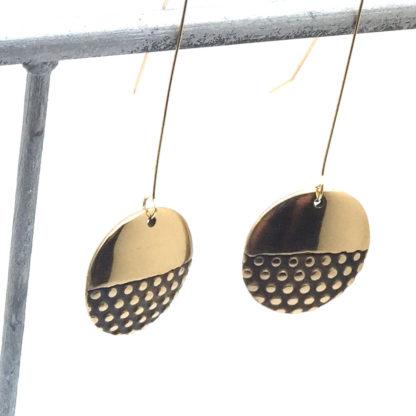 Boucles d'oreille en bronze